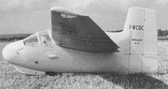charles fauvel sailplane